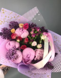 Charity bouquet | Delivery and order flowers in Aktobe
