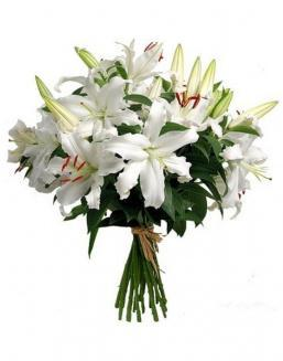 Bouquet of 15 lilies | Delivery and order flowers in Aktobe