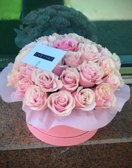 Original box with roses | Delivery and order flowers in Aktobe