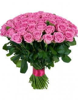 Bouquet 101 pink roses | 101 roses expensive