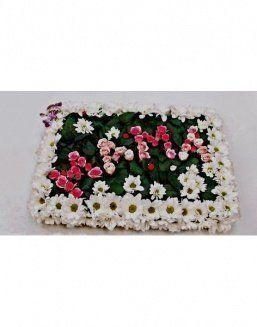 Composition for mother of a chrysanthemum and roses | Delivery and order flowers in Aktobe