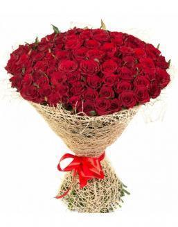 Bouquet of 101 red roses | 101 roses expensive