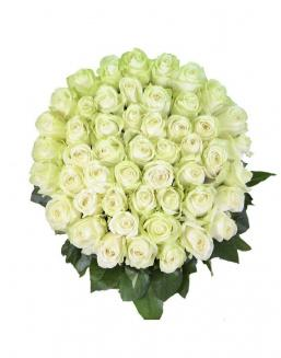 Bouquet 101 white roses | 101 roses expensive